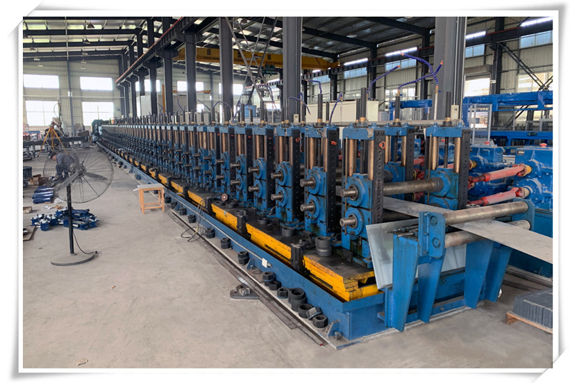 Forming and welding machine for Curtain Wall